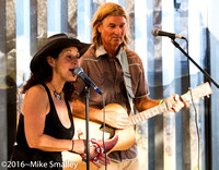 Joshua Tree Music Festival - Jewels & Johnny at the Positive Vibaration Station - May 2016